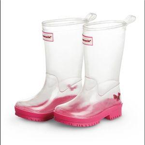 American Girl Williewishers Rainboots